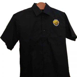 Camisa Elite Taxi M/Corta Negro