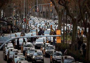 Caravana de avispas a Madrid