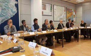 Reunión de Élite Taxi Barcelona con el Conseller Damiá Calvet