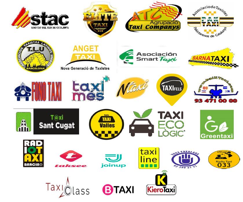 Solicitud de asociaciones e intermediarios del taxi para la reducción de flota del AMB al 50%