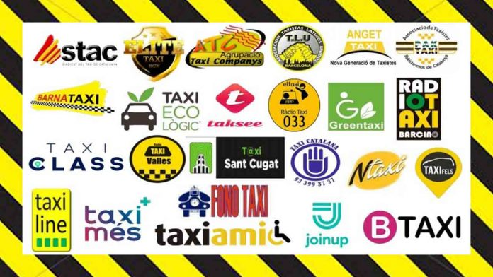 El 100% del taxi del AMB convoca el lunes a la movilización