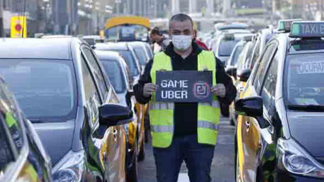 El taxi al límite y en alerta máxima